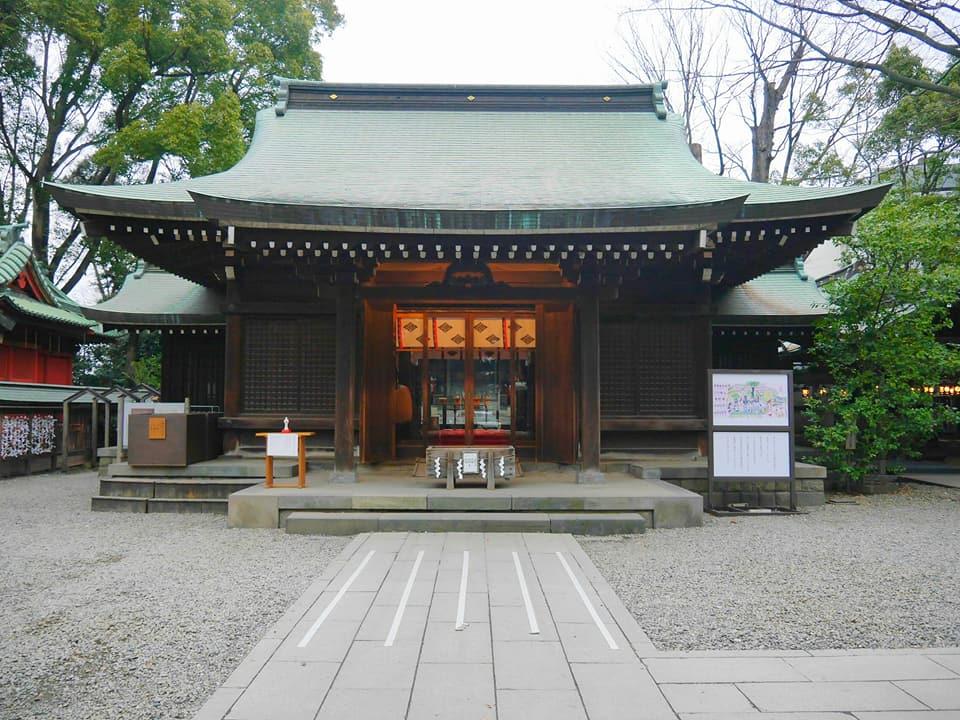 縁結びのパワースポット・川越氷川神社