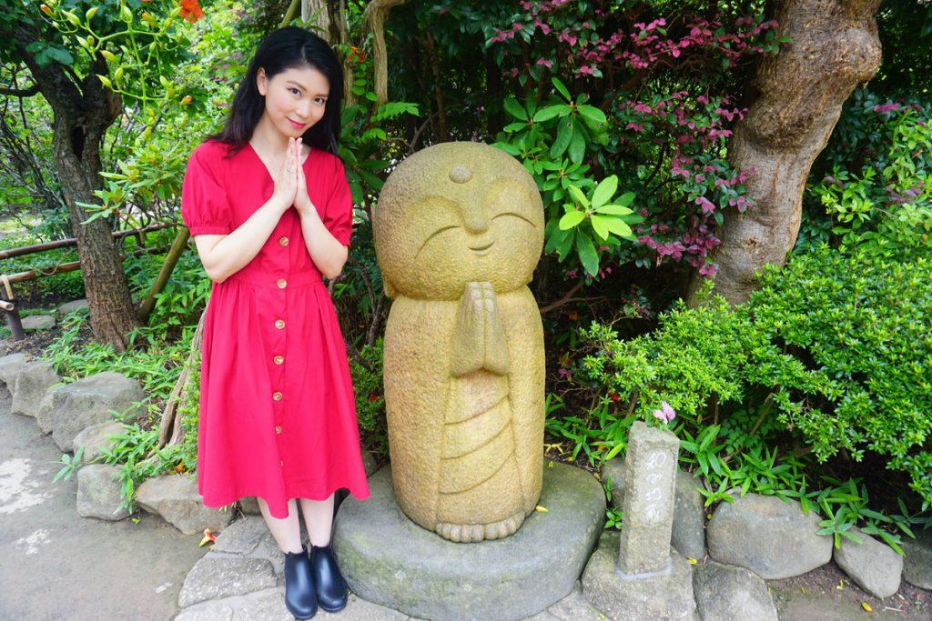鎌倉・長谷寺にある良縁地蔵